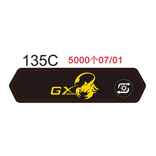 GX鼠标垫面贴135C