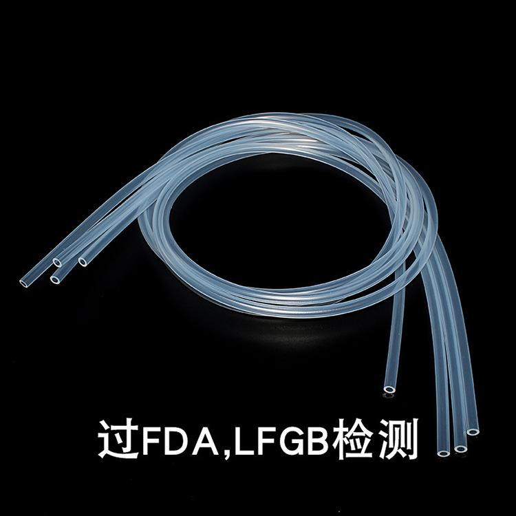 瑞祥硅胶_铂金硫化挤出成型_耐高低温食品级硅胶管厂家直销