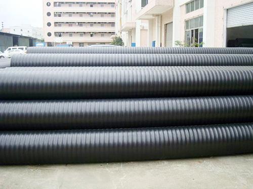 中空壁塑钢缠绕管生产