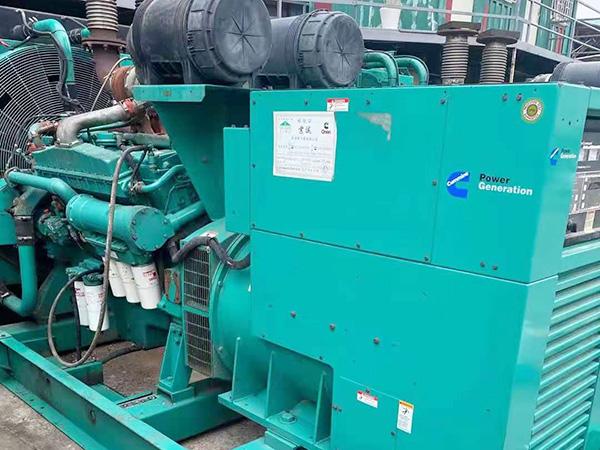 深圳回收發電機