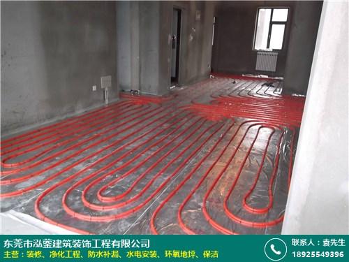 橫瀝車間水電安裝公司報價_泓鎣建筑裝飾