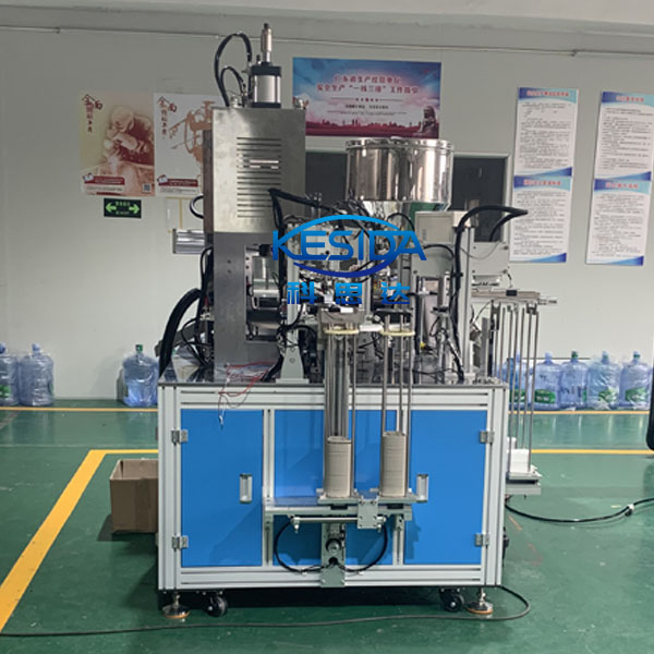 濾毒盒底盒壓縮棉自動組裝焊接機