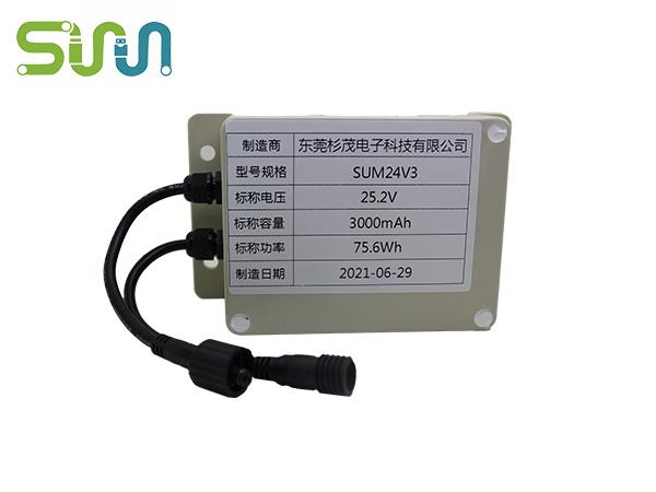 圆柱锂电池SUM24V3