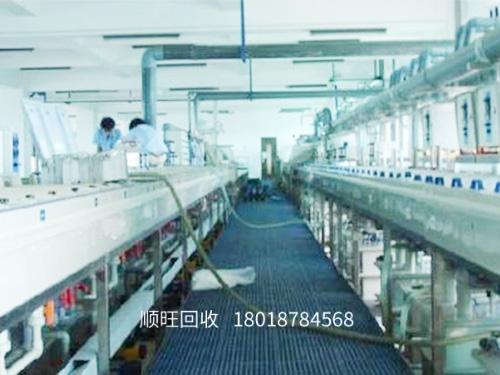 電鍍生產線設備回收
