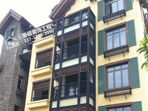 grc水泥构件别墅