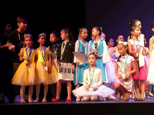 2018年7月新加坡亞洲舞蹈藝術節比賽中榮獲銅獎