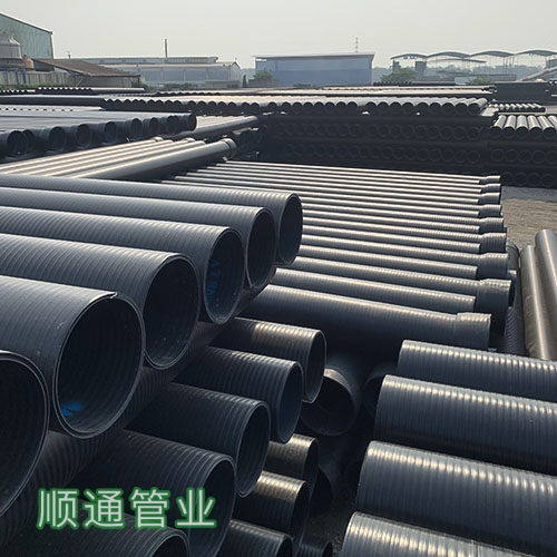 HDPE增强型中空壁缠绕管