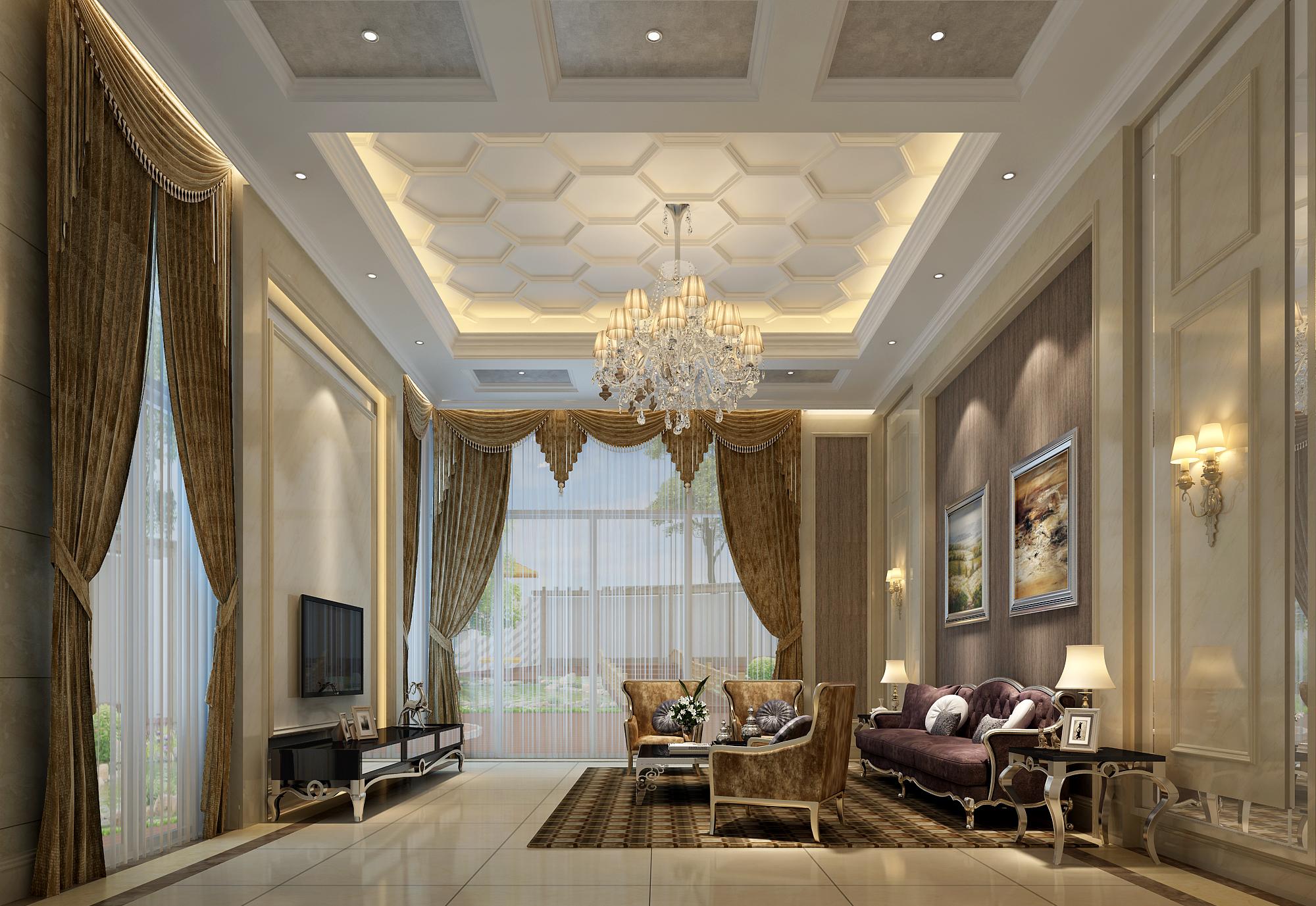 欧式风格主要包括巴洛克风格,洛可可风格和现代欧式风格.