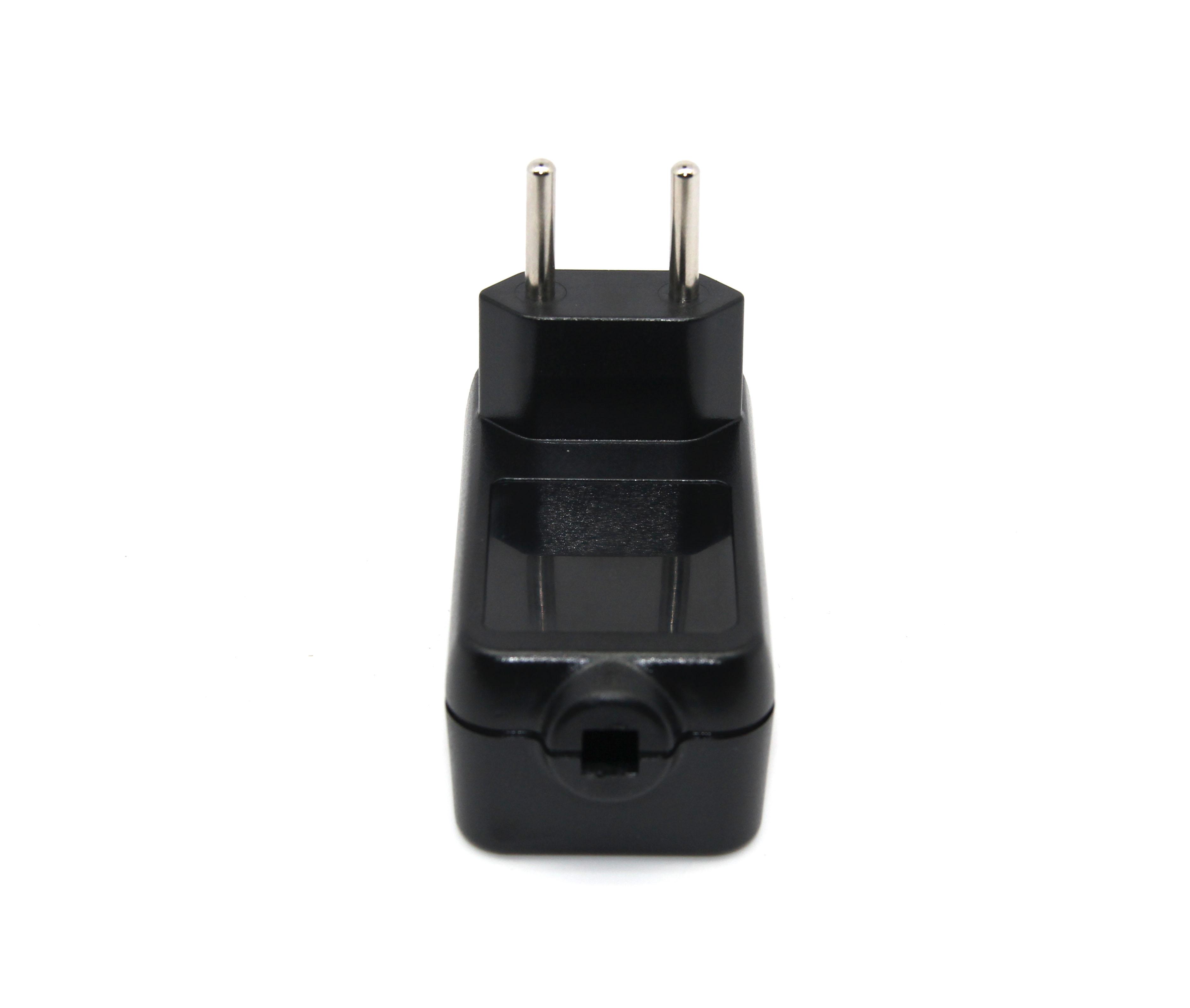 24W卧式欧规适配器外壳(黑色)