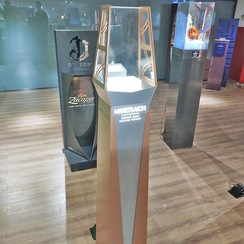 3D_灰色亞克力LED燈_天藝龍展示用品