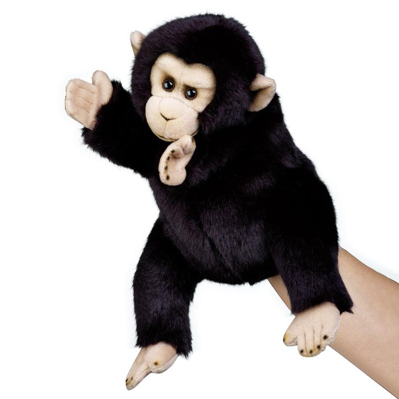 """10""""黑猩猩手偶"""