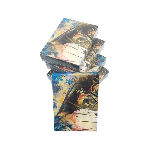 Paper plastic high quality 280-330gram poker stock material and advertising poker type game card