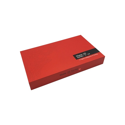 High quality full color custom size logo packaging gift box thick paper box