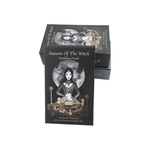Custom Size Paper Material tarot cards with two pieces box