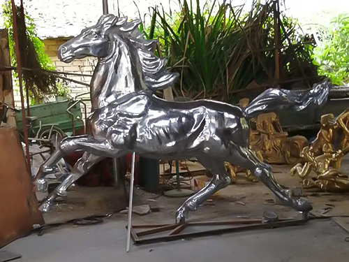 鑄銅鑄鋁動物雕塑