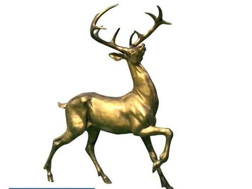 铸铜铸铝动物雕塑