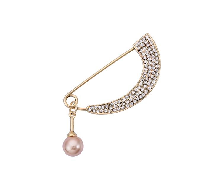 時尚新品珍珠大別針