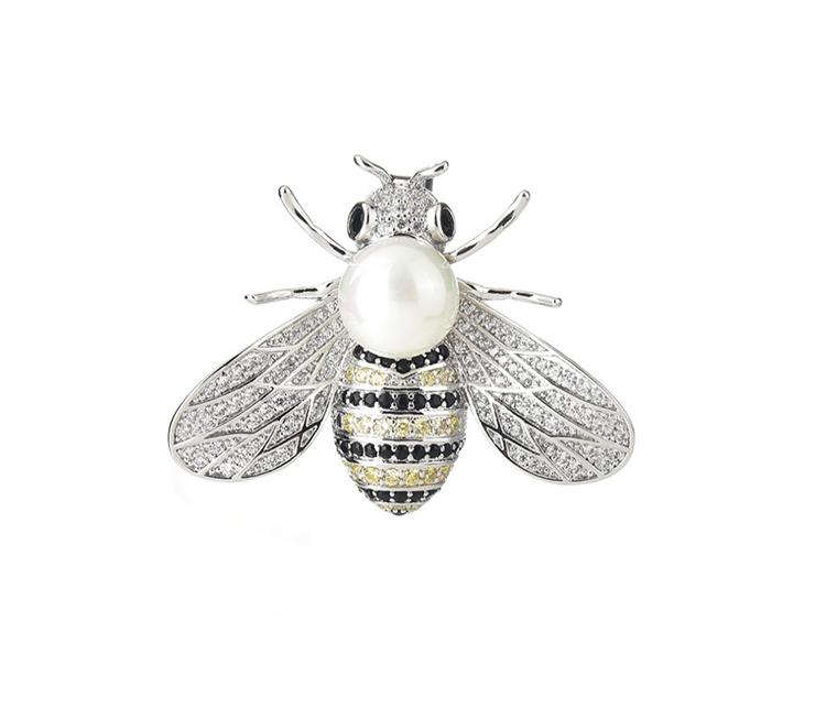 小蜜蜂胸針