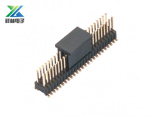 1.27-2.54排针 双排 SMT 耐高温