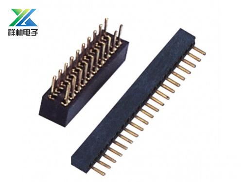 排母金属插头连接器