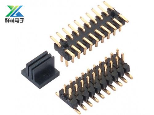 1.27双排针 SMT 耐高温