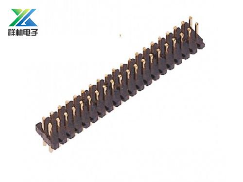1.0排針 雙排 180度 耐高溫