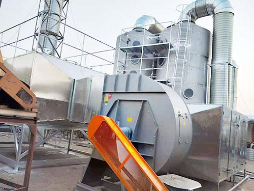 (噴淋塔、活性炭、UV燈箱)油漆過濾除臭配套設施