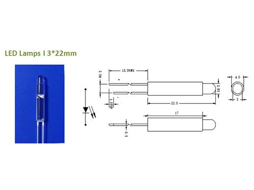 LED Lamps 13*22mm