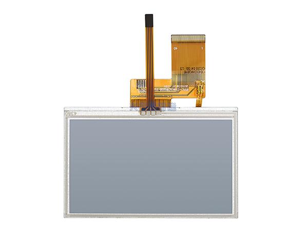 4.3寸液晶屏&電阻屏框貼RYDZ-01038