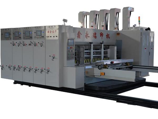 高速自動水墨印刷開槽機