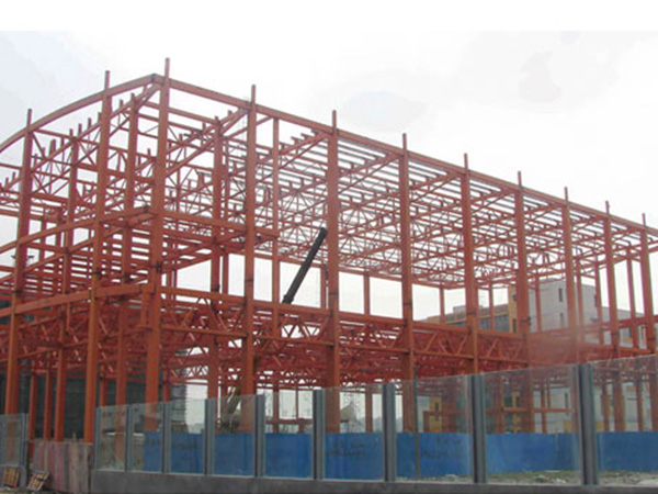 钢结构工程(方管结构式)