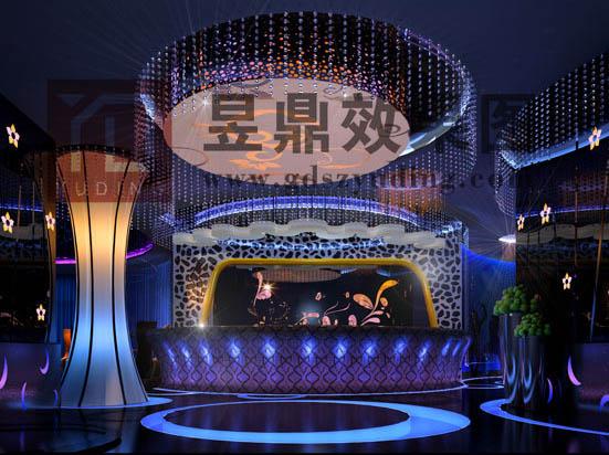 酒吧舞台装修效果图