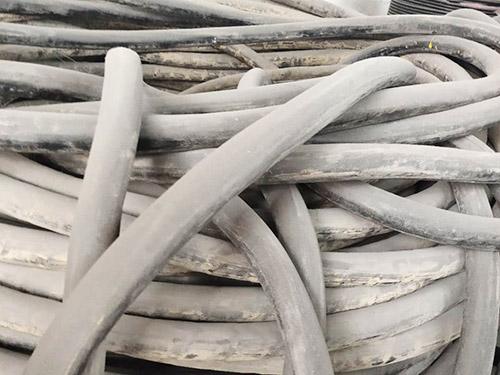 回收废电线