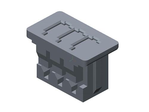 MOLEX塑胶壳 51021-0300