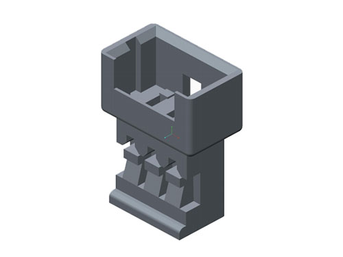 MOLEX塑胶壳 51047-0300