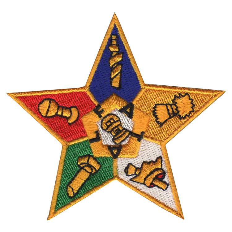 刺繡五角星