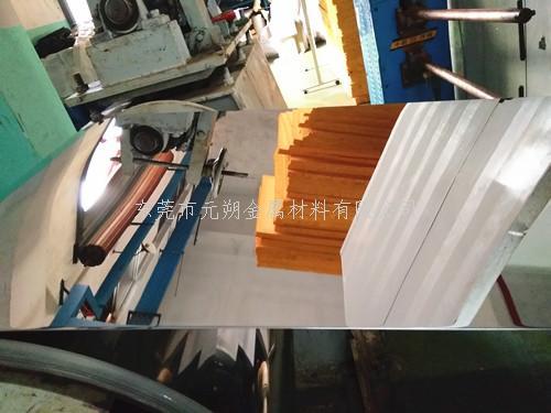 304不锈钢镜面带生产车间【实拍】