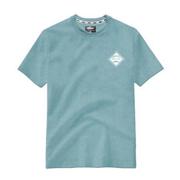青色T恤定制