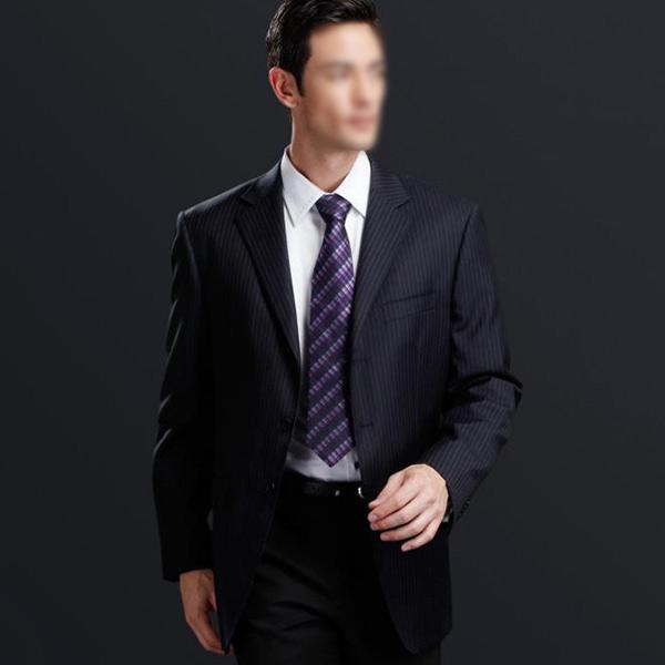 商务黑色西装