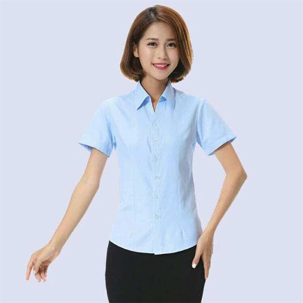 女士短袖职业装