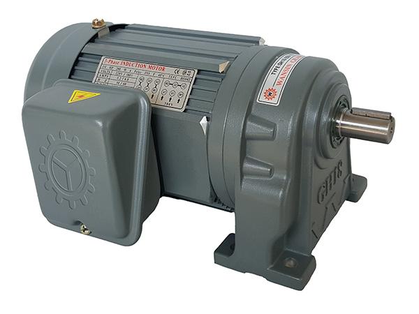 100W卧式齿轮减速电机(18轴3~50比)