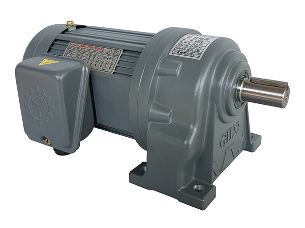 75W22轴卧式齿轮减速电机 (250~1800比)