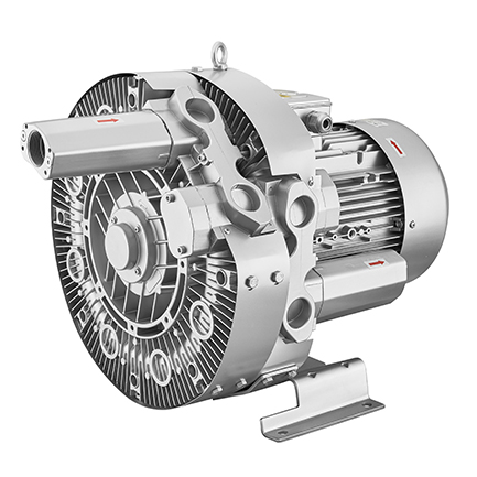 25KW双级增流量高压鼓风机