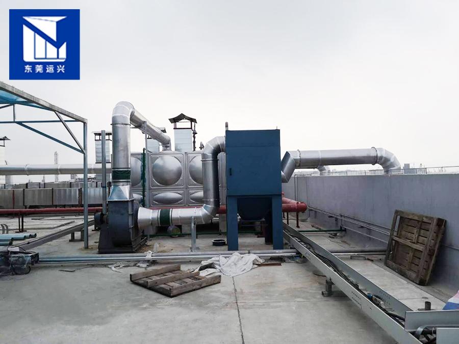 廢氣處理工程-沙田噴漆廠