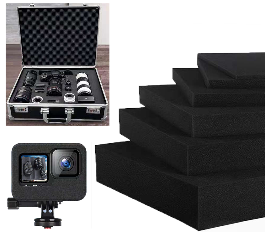 订做礼品盒航空铝箱包装内衬防震海绵垫