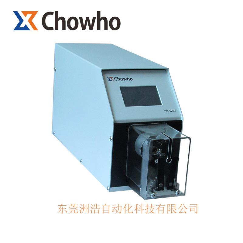 洲浩自動化_衡陽CS-1250半自動同軸電纜剝皮機_低損線_新型