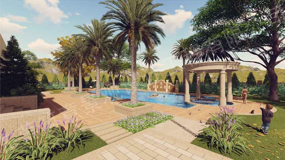 新中式景观设计色彩有哪些选择|别墅花园设计|园林景观设计|筑意景观