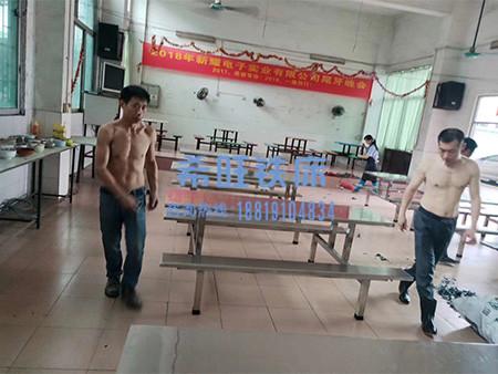 东莞不锈钢餐桌定制厂家