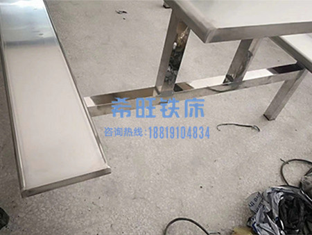 不锈钢餐桌加工厂