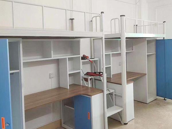 带衣柜连体组合公寓床